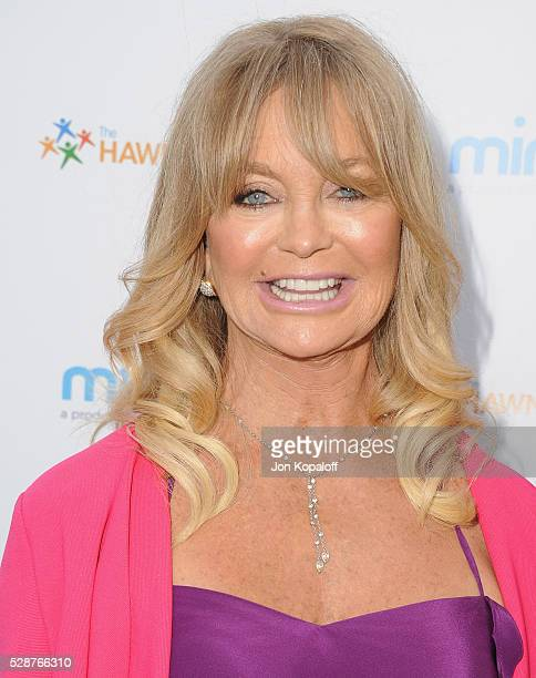 Actress Goldie Hawn arrives at Goldie Hawn And Kurt Russell Host Annual Goldie's Love In For Kids at Ron Burkle's Green Acres Estate on May 6 2016 in...