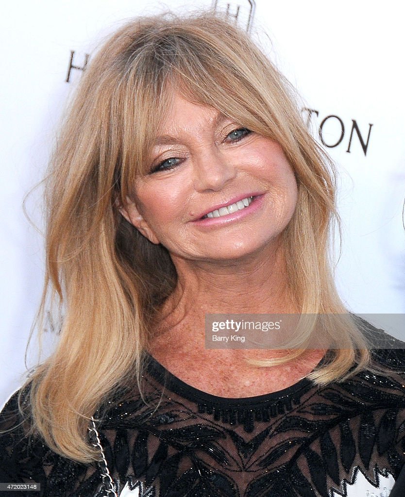 Actress Goldie Hawn arrives at Mattel Children's Hospital UCLA Kaleidoscope Ball at 3LABS on May 2, 2015 in Culver City, California.
