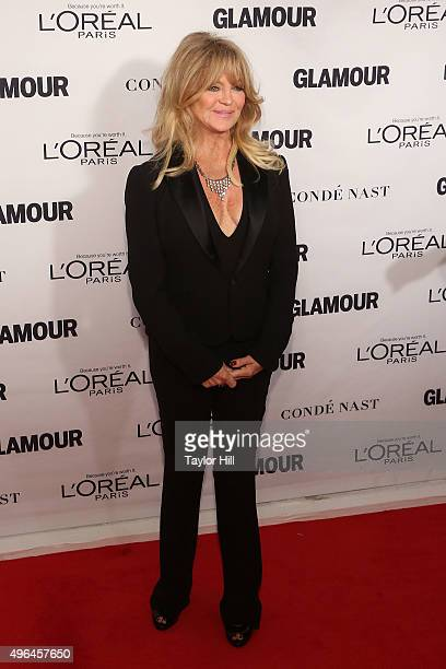 Actress Goldie Hawn attends Glamour's 25th Anniversary Women Of The Year Awards at Carnegie Hall on November 9 2015 in New York City