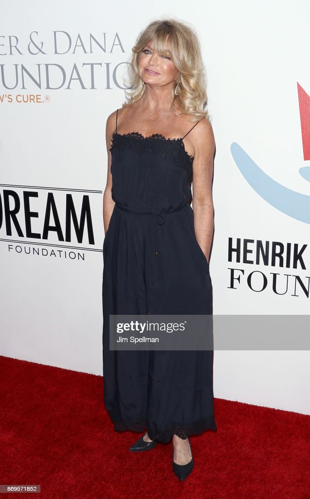 Actress Goldie Hawn attends the 2017 Samsung Charity Gala at Skylight Clarkson Sq on November 2, 2017 in New York City.