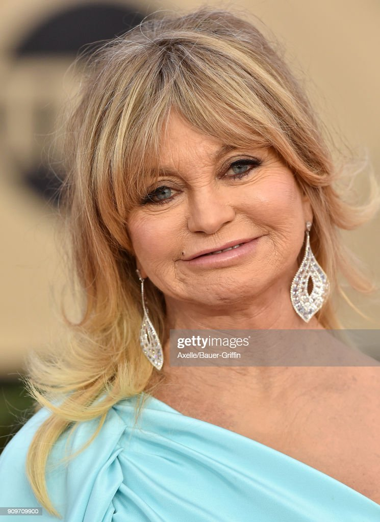 Actress Goldie Hawn attends the 24th Annual Screen Actors Guild Awards at The Shrine Auditorium on January 21, 2018 in Los Angeles, California.