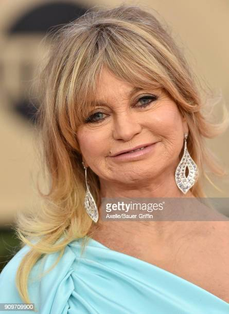 Actress Goldie Hawn attends the 24th Annual Screen Actors Guild Awards at The Shrine Auditorium on January 21 2018 in Los Angeles California