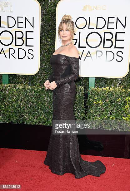 Actress Goldie Hawn attends the 74th Annual Golden Globe Awards at The Beverly Hilton Hotel on January 8 2017 in Beverly Hills California