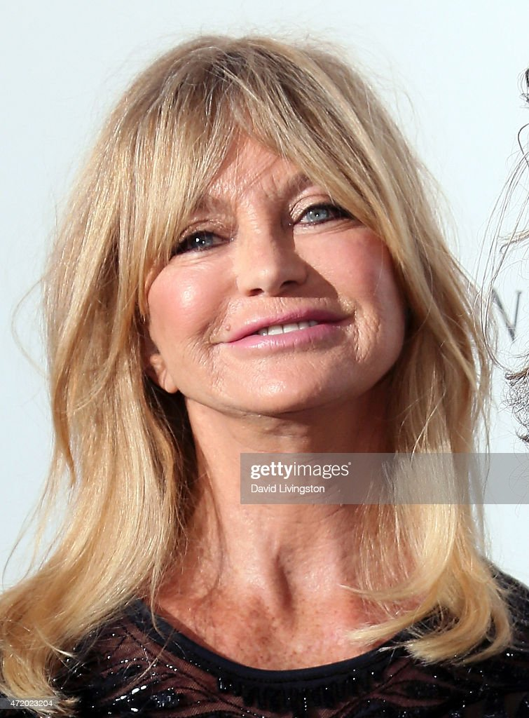 Actress Goldie Hawn attends the Mattel Children's Hospital UCLA Kaleidoscope Ball at 3LABS on May 2, 2015 in Culver City, California.