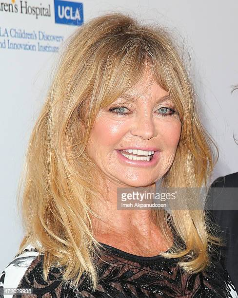 Actress Goldie Hawn attends the Mattel Children's Hospital UCLA Kaleidoscope Ball at 3LABS on May 2 2015 in Culver City California