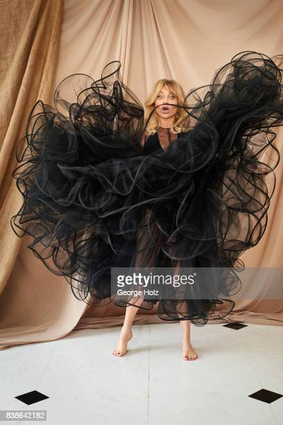Actress Goldie Hawn is photographed for Cambria Style Magazine on April 18 2017 in New York City PUBLISHED IMAGE