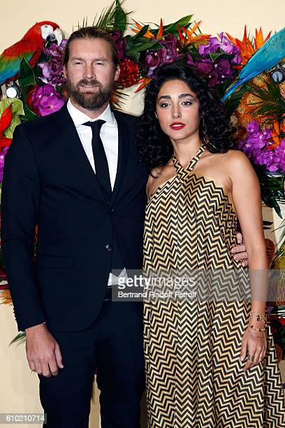 Actress Golshifteh Farahani and her husband Christos Dorje Walker attend the Opening Season Gala at Opera Garnier on September 24 2016 in Paris France