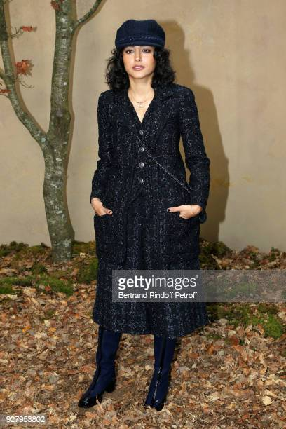 Actress Golshifteh Farahani attends the Chanel show as part of the Paris Fashion Week Womenswear Fall/Winter 2018/2019 on March 6 2018 in Paris France