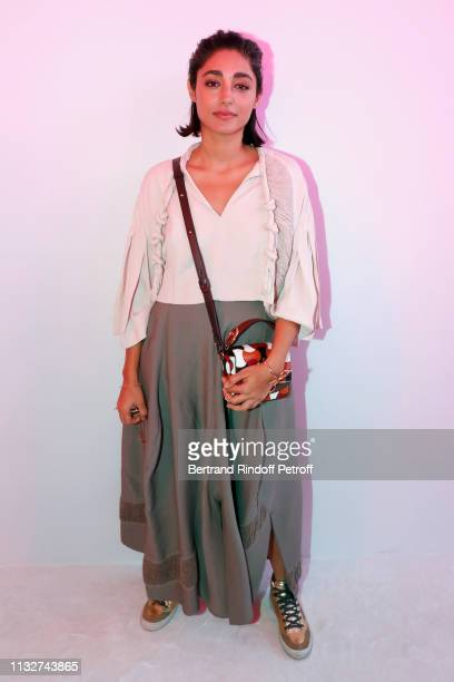 Actress Golshifteh Farahani attends the Chloe show as part of the Paris Fashion Week Womenswear Fall/Winter 2019/2020 on February 28 2019 in Paris...