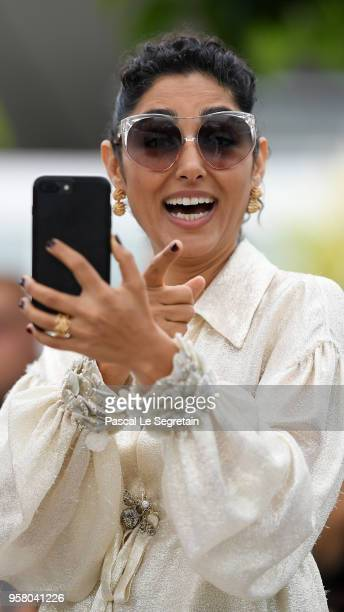 Actress Golshifteh Farahani attends the photocall for 'Girls Of The Sun ' during the 71st annual Cannes Film Festival at Palais des Festivals on May...