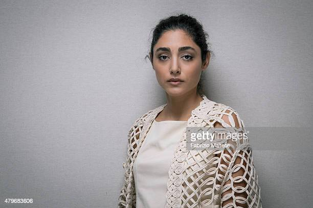 Actress Golshifteh Farahani is photographed for The Hollywood Reporter on May 15 2015 in Cannes France