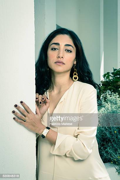 Actress Golshifteh Farahani is photographed for The Hollywood Reporter on May 14 2016 in Cannes France