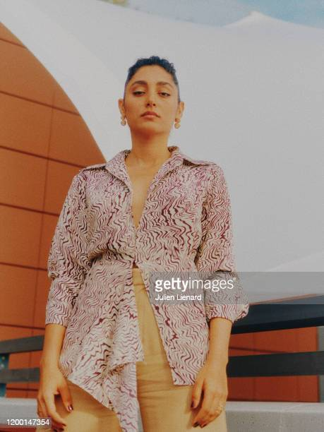 Actress Golshifteh Farahani poses for a portrait on May, 2018 in Cannes, France. .