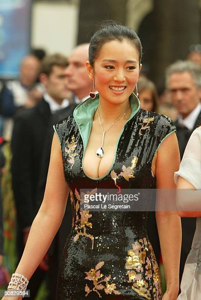 Actress Gong Li attends the 57th Cannes Film Festival Opening Ceremony and screening of opening film La Mala Educacion at the Grand Theatre Lumiere...