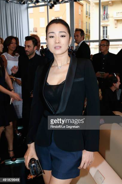 Actress Gong Li attends the Louis Vuitton Cruise Line Show 2015 at Palais Princier on May 17 2014 in MonteCarlo Monaco