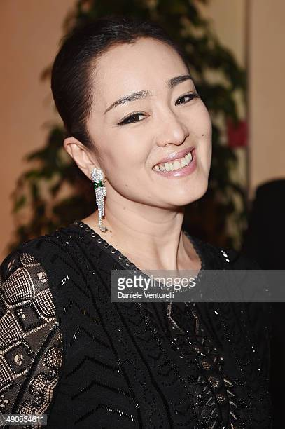 Actress Gong Li attends the Opening Ceremony Dinner at the 67th Annual Cannes Film Festival on May 14 2014 in Cannes France