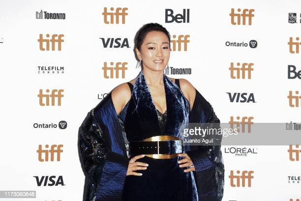 Actress Gong Li attends the Saturday Fiction premiere during at Winter Garden Theatre on September 07 2019 in Toronto Canada