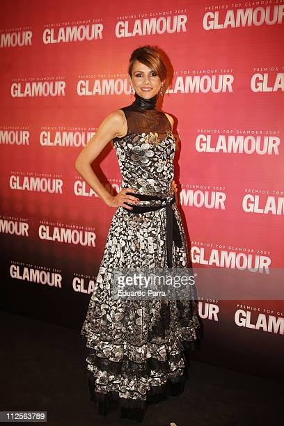 Actress Goya Toledo attends the Glamour Awards party at Casino de Madrid November 6 2007 in Madrid Spain