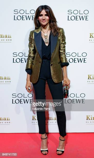 Actress Goya Toledo attends the 'Kingsman El Circulo De Oro' premiere at Callao cinema on September 19 2017 in Madrid Spain