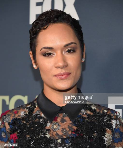 Actress Grace Byers arrives at the FOX Winter TCA AllStar Party 2019 at The Fig House in Los Angeles on February 6 2019