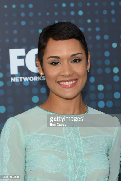 Actress Grace Byers attends the 2017 FOX Upfront at Wollman Rink on May 15 2017 in New York City