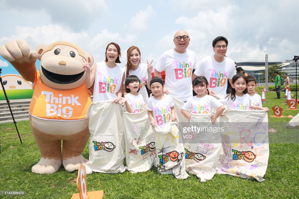 HKG: Grace Chan Attends TVB Activity In Hong Kong