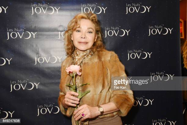 Actress Grace de Capitani attends 'Nuit Jovoy Rose Millesimee' at Jovoy Store on September 18 2017 in Paris France