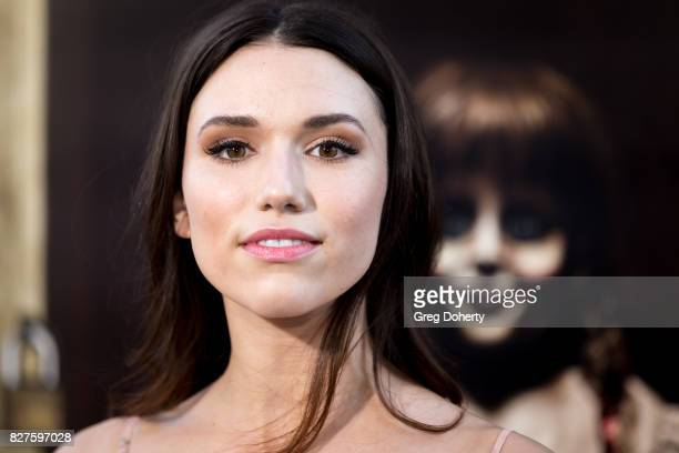 Actress Grace Fulton arrives for the Premiere Of New Line Cinema's Annabelle Creation at the TCL Chinese Theatre on August 7 2017 in Hollywood...