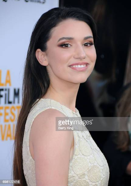 Actress Grace Fulton attends the 2017 Los Angeles Film Festival Premiere of Warner Brothers Pictures' 'Annabelle Creation' at The Theatre at Ace...