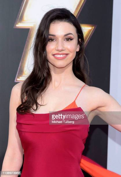 Actress Grace Fulton attends the world premiere of Shazam at TCL Chinese Theatre on March 28 2019 in Hollywood California