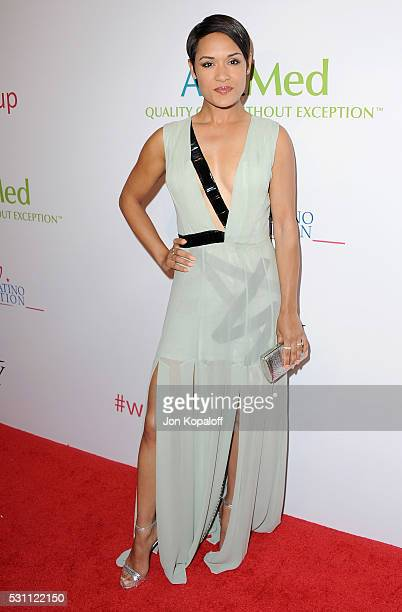 Actress Grace Gealey arrives at AltaMed Health Services' Power Up, We Are The Future Gala at the Beverly Wilshire Four Seasons Hotel on May 12, 2016...