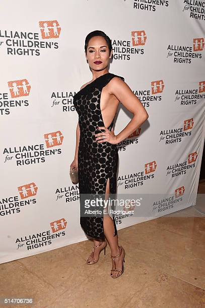 Actress Grace Gealey attends the Alliance for Children's Rights' 24th annual dinner at The Beverly Hilton Hotel on March 10, 2016 in Beverly Hills,...