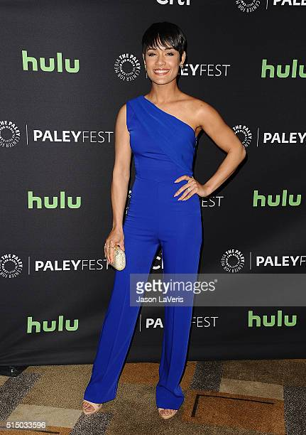 """Actress Grace Gealey attends the """"Empire"""" event at the 33rd annual PaleyFest at Dolby Theatre on March 11, 2016 in Hollywood, California."""