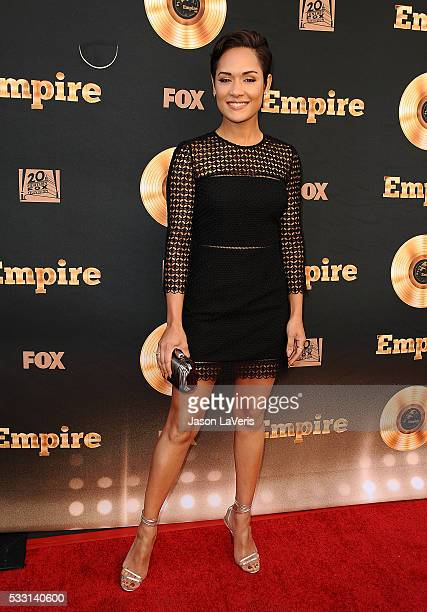 """Actress Grace Gealey attends the """"Empire"""" FYC ATAS event at Zanuck Theater on May 20, 2016 in Los Angeles, California."""