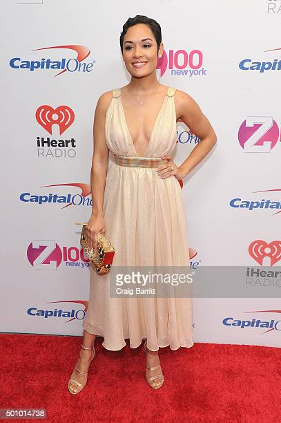 Actress Grace Gealey attends Z100's Jingle Ball 2015 at Madison Square Garden on December 11, 2015 in New York City.