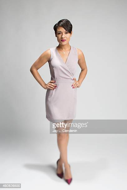 Actress Grace Gealey is photographed for Los Angeles Times on October 1, 2015 in Los Angeles, California. PUBLISHED IMAGE. CREDIT MUST READ: Jay L...
