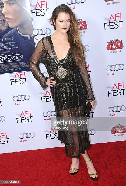 Actress Grace Gummer arrives at The Homesman' premiere during AFI FEST 2014 Presented By Audi held at Dolby Theatre on November 11 2014 in Hollywood...