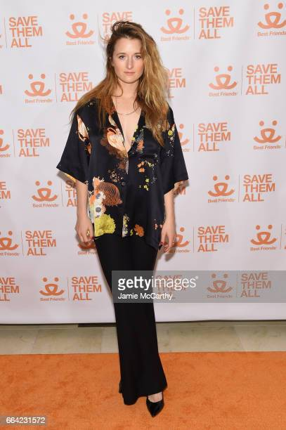Actress Grace Gummer attends the 2017 Best Friends Benefit To Save Them All on April 3 2017 in New York City