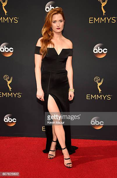Actress Grace Gummer attends the 68th Annual Primetime Emmy Awards at Microsoft Theater on September 18 2016 in Los Angeles California