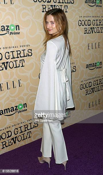Actress Grace Gummer attends the 'Good Girls Revolt' New York screening at the Joseph Urban Theater at Hearst Tower on October 18 2016 in New York...