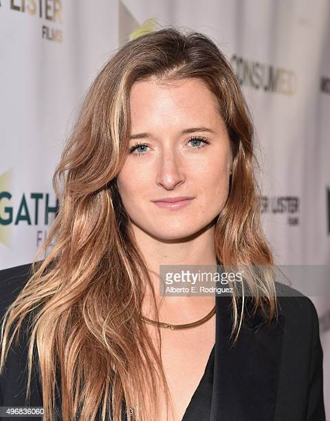Actress Grace Gummer attends the Los Angeles premiere of Mister Lister Films' 'Consumed' at Laemmle Music Hall on November 11 2015 in Beverly Hills...