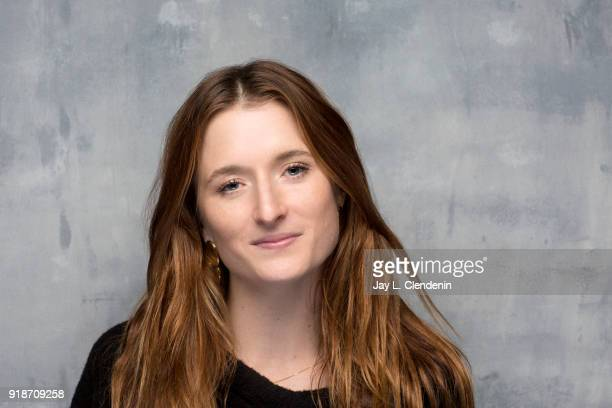 Actress Grace Gummer from the film 'The Long Dumb Road' is photographed for Los Angeles Times on January 19 2018 in the LA Times Studio at Chase...