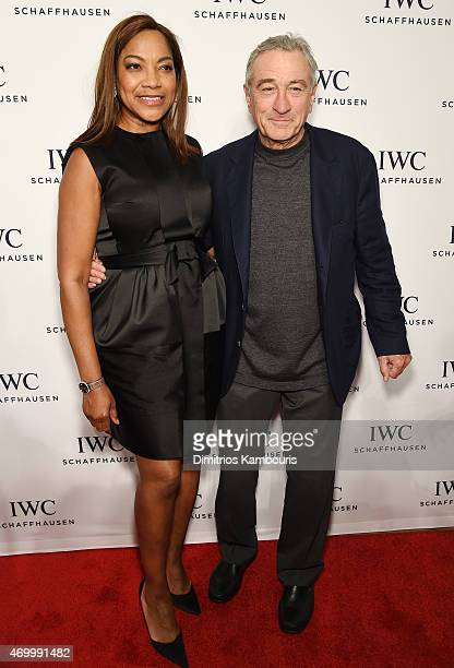 Actress Grace Hightower and Tribeca Film Festival Cofounder Robert De Niro attend the IWC Schaffhausen Third Annual For the Love of Cinema Gala...