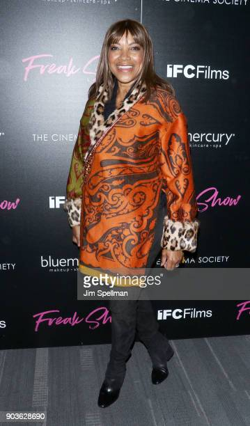 Actress Grace Hightower attends the premiere of IFC Films' 'Freak Show' hosted by The Cinema Society and Bluemercury at Landmark Sunshine Cinema on...