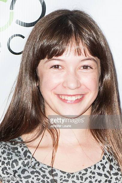 Actress Grace Kaufman arrives at the Opening Night Gala of the 2014 Hollywood Film Festival at ArcLight Hollywood on October 16 2014 in Hollywood...