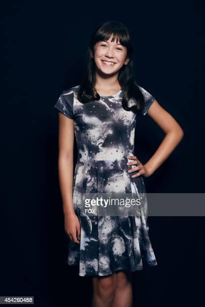Actress Grace Kaufman is photographed at the Fox 2014 Teen Choice Awards at The Shrine Auditorium on August 10 2014 in Los Angeles California
