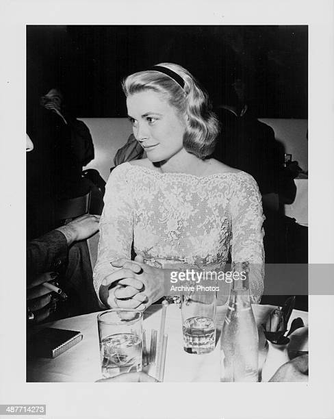 Actress Grace Kelly attending an awards ceremony circa 19501960