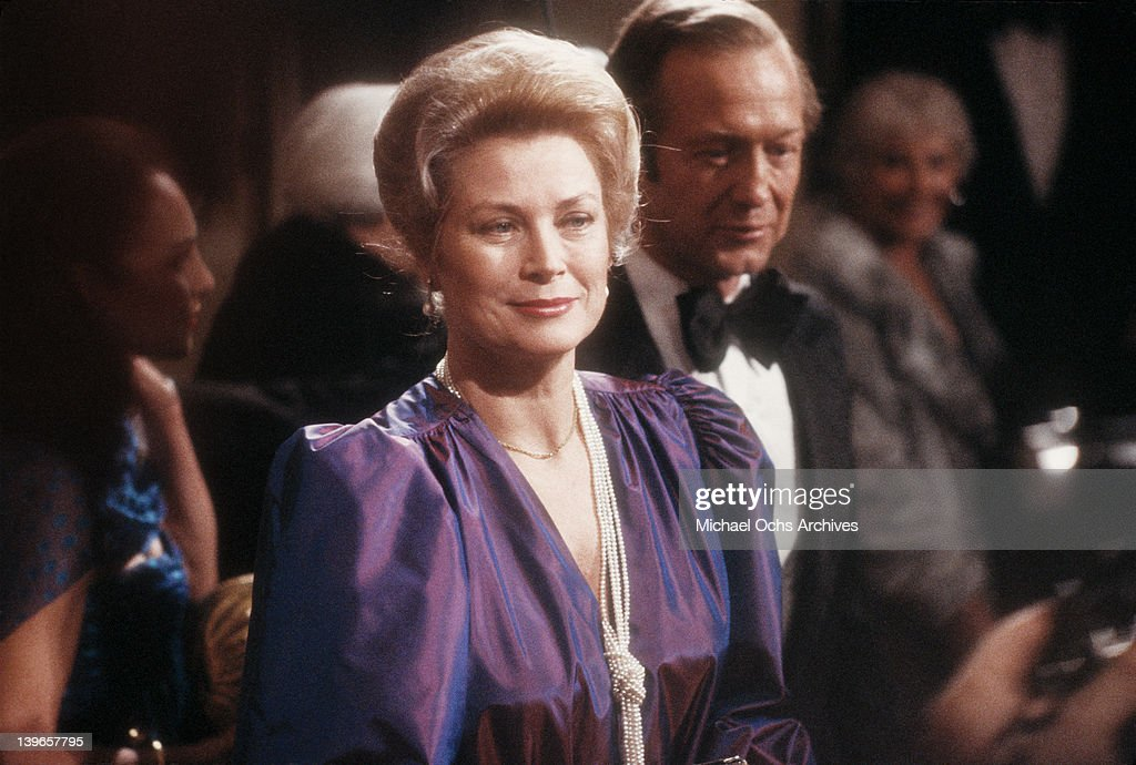 Actress Grace Kelly attends the AFI Life Achievement Award and Tribute to Jimmy Stewart at the Beverly Hilton Hotel on February 28, 1980 in Beverly Hills, California.