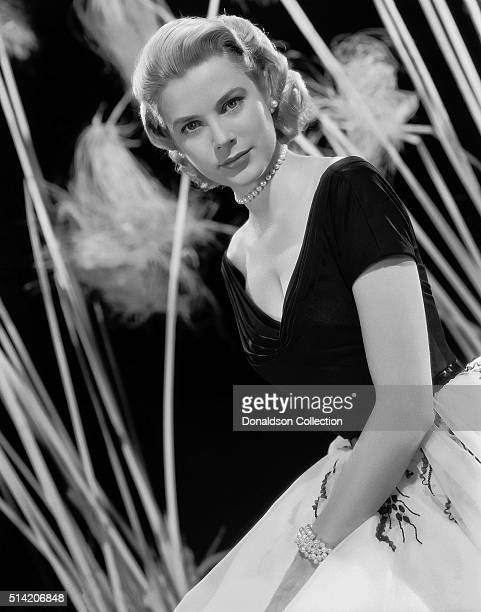 Actress Grace Kelly in a scene from the movie Rear Window which was released in 1956