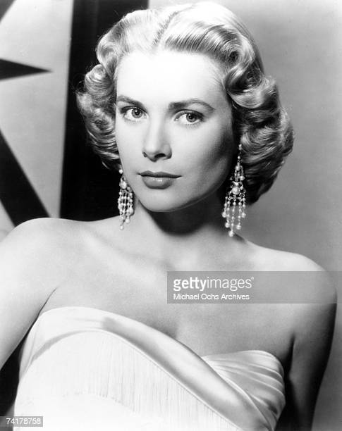 Actress Grace Kelly poses for promotional photo circa 1955